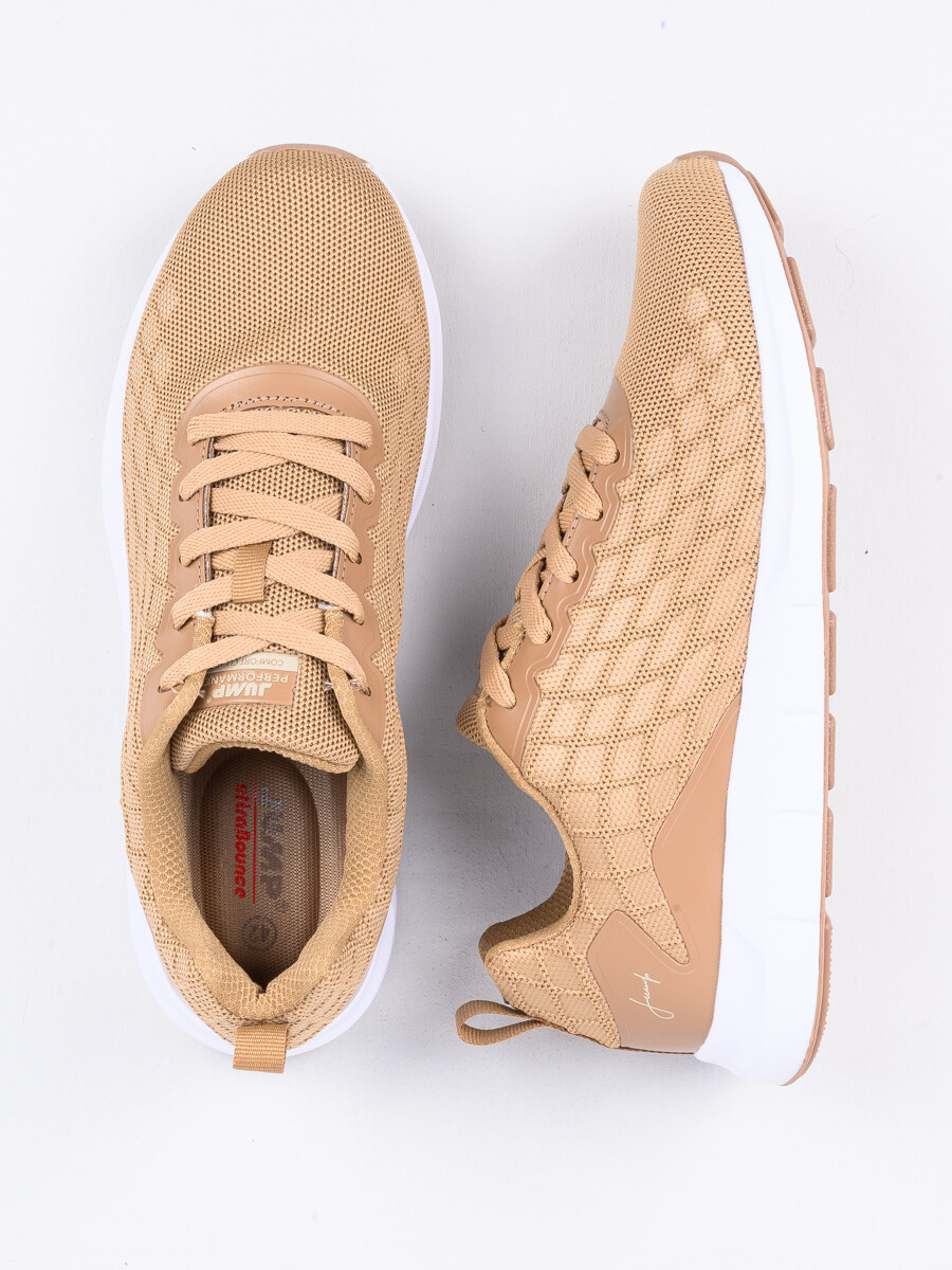 MEN'S TRAINERS SHOE CAMEL-OFF WHITE