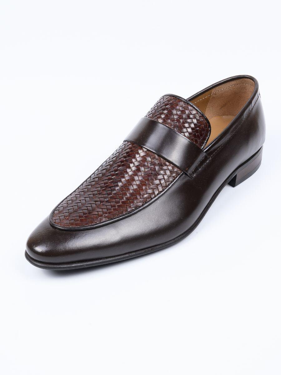 Men Brown Premium Penny Loafer