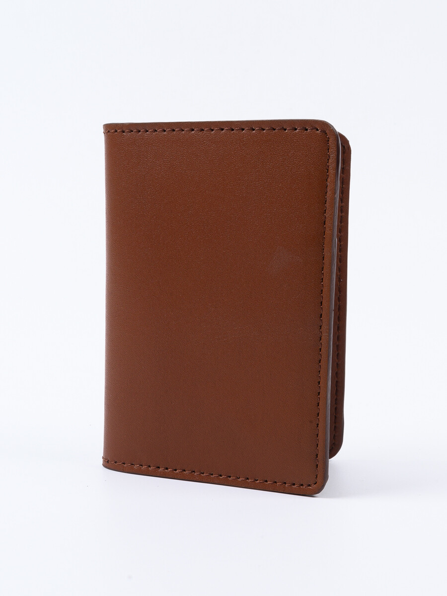 Executive Leather Card Holder Tan