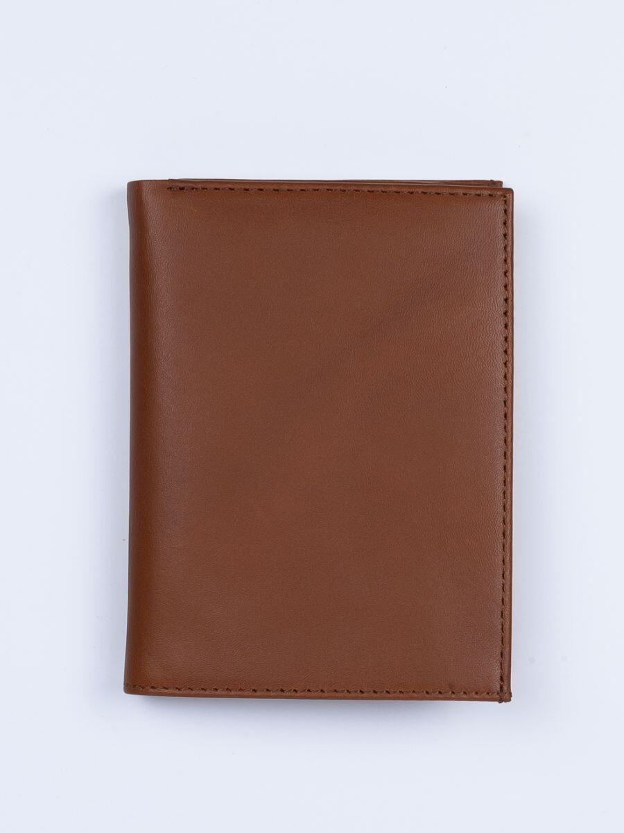 Executive Leather Passport Holder Tan