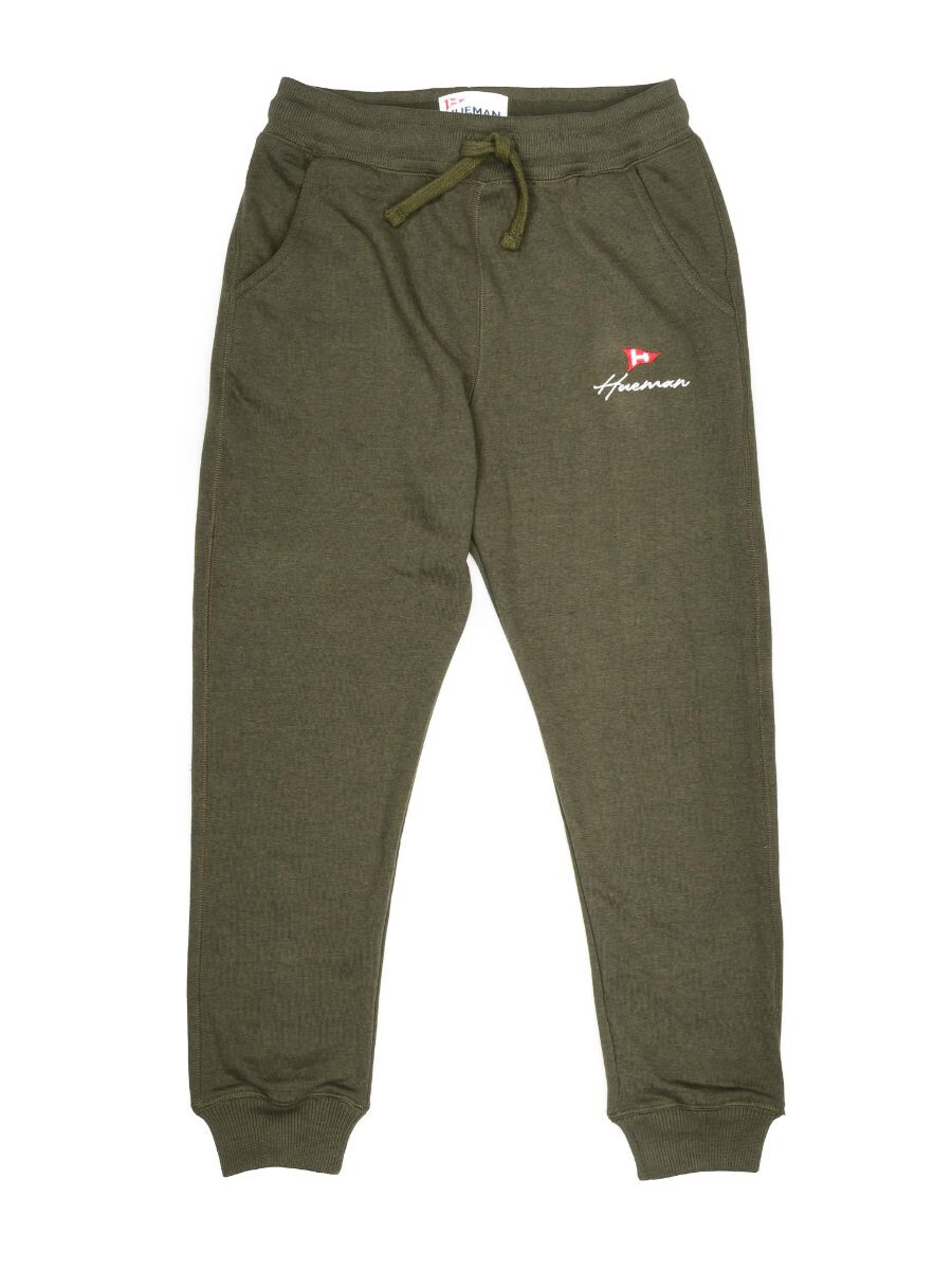 Big Boys Olive Terry Slim Joggers