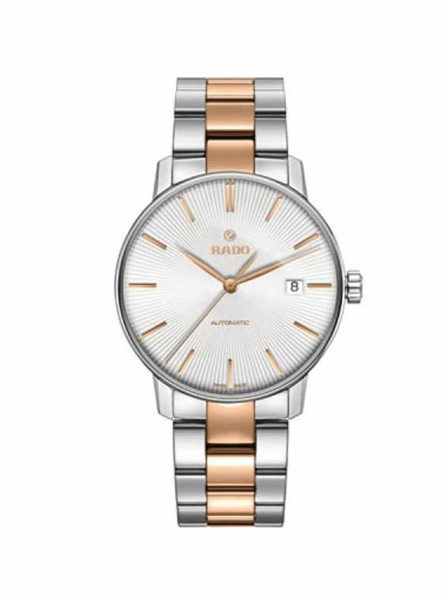 Coupole Classic Automatic White Dial Two-tone Men's Watch