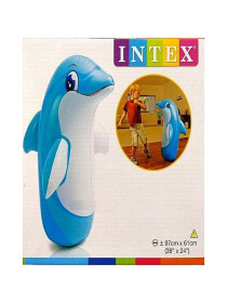 Inflatable Blow Up Punching Bags Toys (Dolphin)