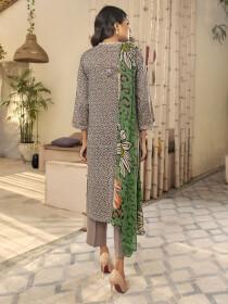 Zinc Printed Textured Lawn Unstitched 2 Piece Suit for Women