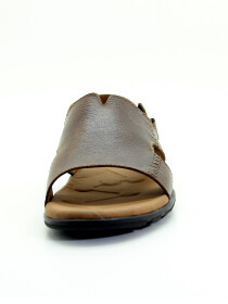 Brown Genuine Leather Sandals For Men