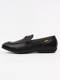 Men's Genuine Leather Horse BitCasual Slip on