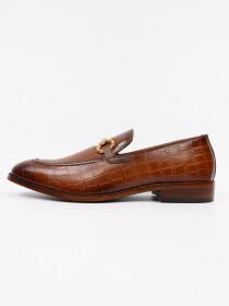 Men's Genuine Leather Kordon Slip on