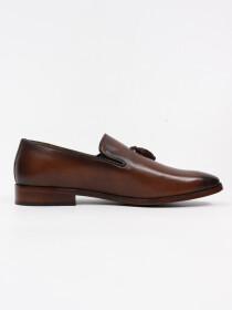 Men's Genuine Leather Capri Slip on