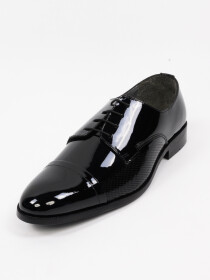 Men's Genuine Leather Luft Patent Oxfords Shoes