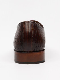 Men's Genuine Leather Capri Tasseles Shoes