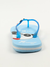 Women Blue Comfort Flip Flop