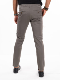 Men'sZinc Stretch Flat Front Slim Fit Chino Pant