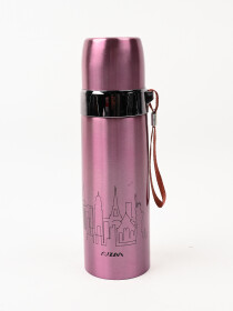 PinkLeakproof  Insulated Stainless Steel Thermos Water Bottle Hot & Cold