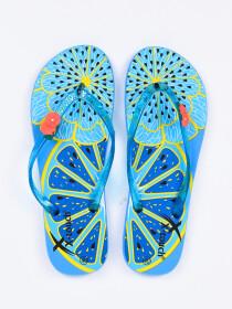 Women Blue Fruit's Comfort Flip Flop