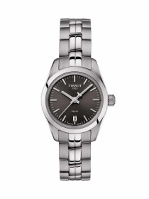 PR 100 Lady Small watch anthracite colour dial with grey bracelet
