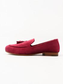 TA Premium & Classic Men's Suede Red Rose Leather Shoes
