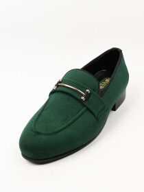 TA Premium & Classic Men's Suede Green Leather Shoes