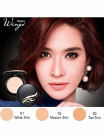 Mistine Wings Extra Cover Super Powder SPF25 PA++ Shade: Bronze