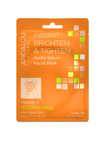 Instant Brighten & Tighten Hydro Serum Facial Mask