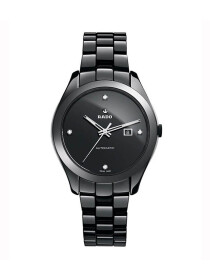 Rado  HyperChrome M Automatic Jubile With Diamonds - Black