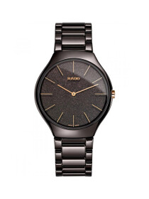 Rado True Thinline Brown Dial