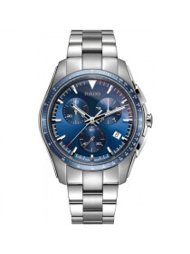 Rado Hyperchrome Chronograph XXL Gents Watch Blue Dial