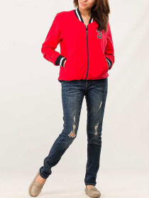 Red Zipper Jacket