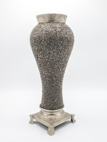 Grey Decor Vase