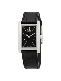 Calvin Klein  - Refine Watch for Men - Black (Brand Warranty)