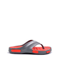LIGHT-GREY-RED MEN FLIP-FLOPS