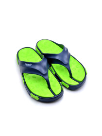 NAVY-LEMON-GREEN MEN FLIP-FLOPS