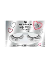 ESSENCE WE ARE...CRAZY FALSE LASHES & 3D SET 01