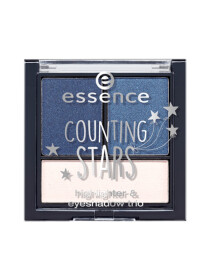 ESSENCE COUNTING STARS HIGHLIGHTER & EYESHADOW TRIO 02