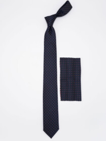 Men's Geometric Dot Tie