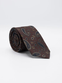 Men's Medium Paisley Microfiber polyester Tie