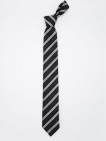 Mixed Media Stripe Tie