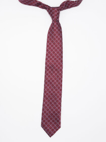 Premium Light Geo Slim Tie