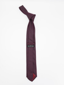 Honeycomb Microfiber Polyester Tie