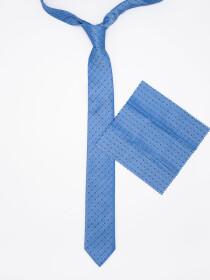 Classic Cut Check MicroFibre polyester Jacquard Tie
