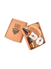 Gold Starter Beard Grooming Kit