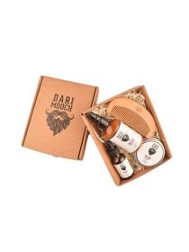 White Starter Beard Grooming Kit