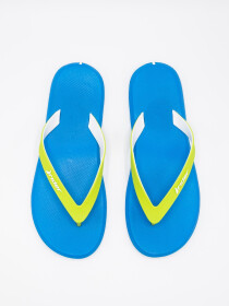 MEN'S BLUE-WHITE & GREEN FLIP-FLOPS