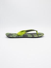 MEN BLACK & GREEN FLIP-FLOPS