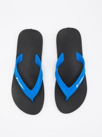 MEN BLACK & BLUE FLIP-FLOPS
