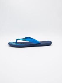 MEN BLUE-BLACK & WHITE FLIP-FLOPS