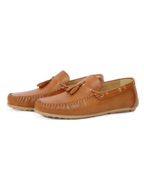 DRIVING MOCCASINS WITH TASSLE