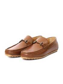 DRIVING MOCCASINS WITH BUCKLE
