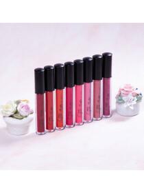 Mistine Super Matte Air Matte Liquid Lip Color (04 Dark Pink)