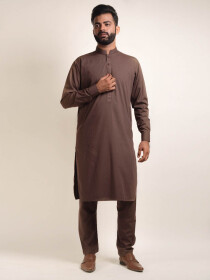 Kameez Shalwar - Light Brown