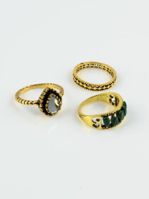 Classy Gold Plated Italian Rings